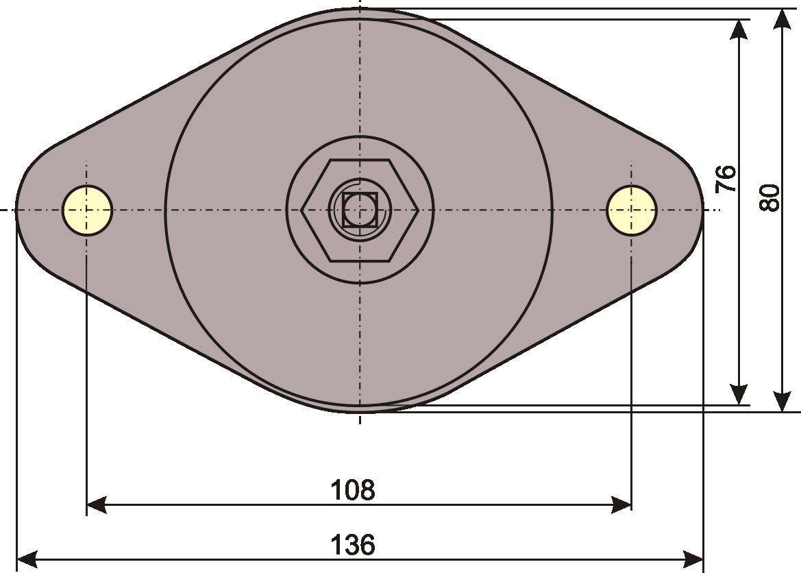 wibroizolator pierścieniowy V-75 WibroizolacjaPolska